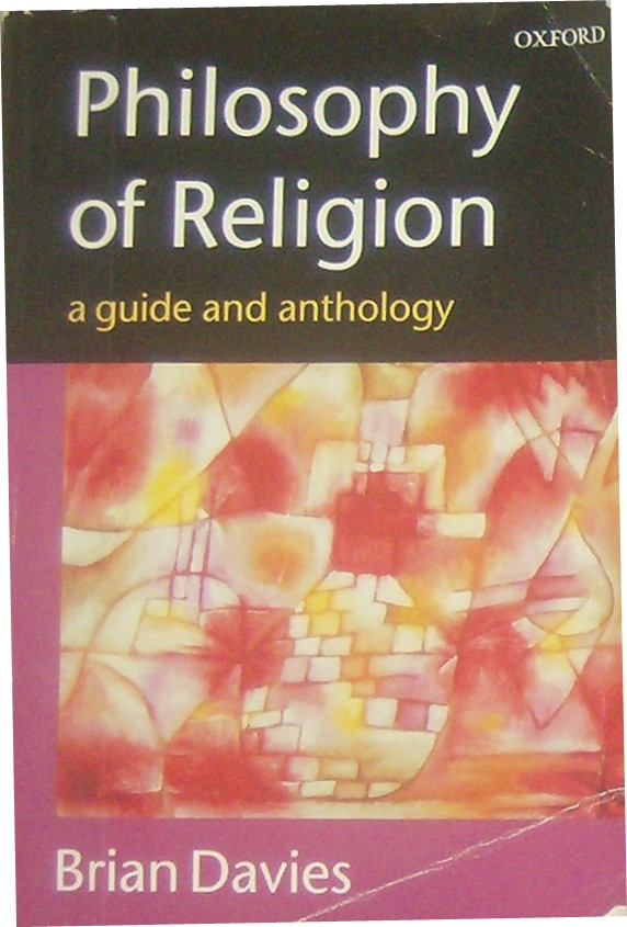 brian davies philosophy of religion a guide and anthology pdf
